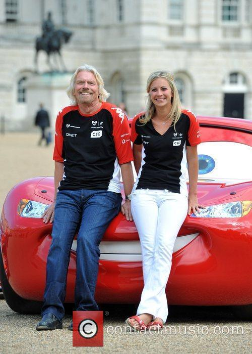 Richard Branson and Holly Branson 12