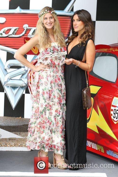 Gabriella Ellis and Francesca Hull Cars 2 Premiere...