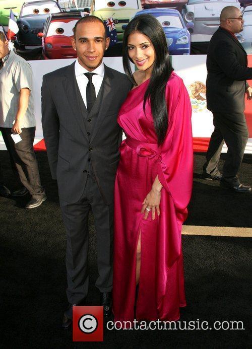 Lewis Hamilton and Nicole Scherzinger 3