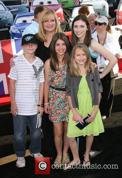 Bonnie Hunt and Family The Los Angeles premiere...