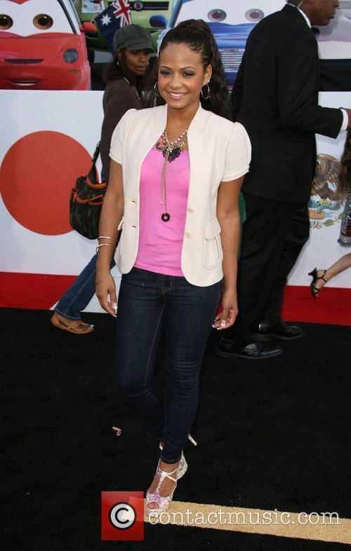 Christina Milian The Los Angeles premiere of 'Cars...