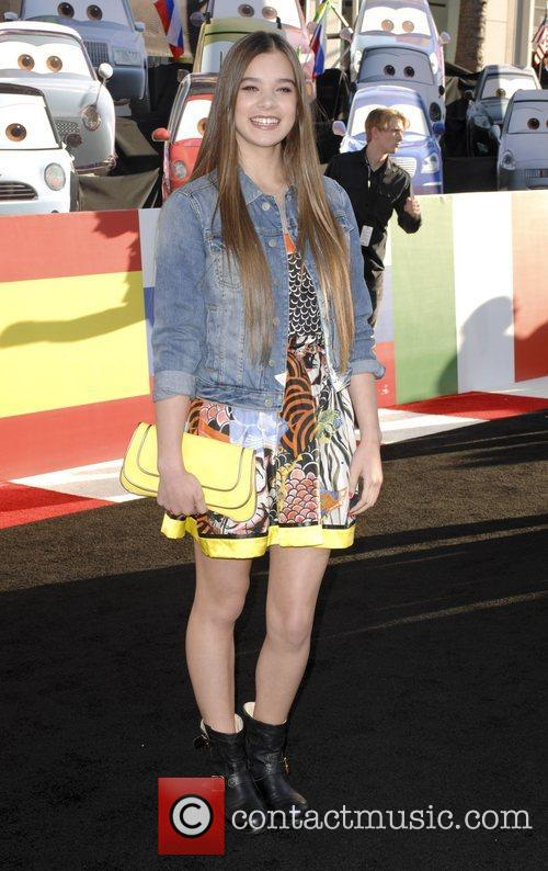 Hailee Steinfeld The Los Angeles premiere of 'Cars...