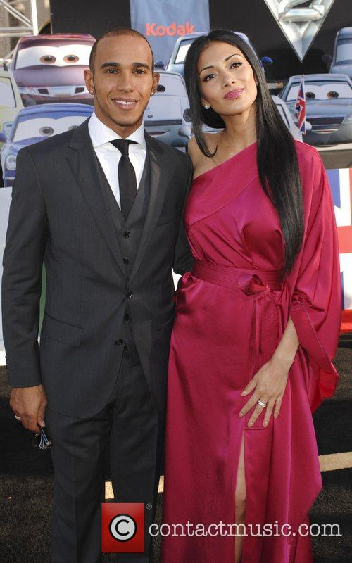 Lewis Hamilton and Nicole Scherzinger 11