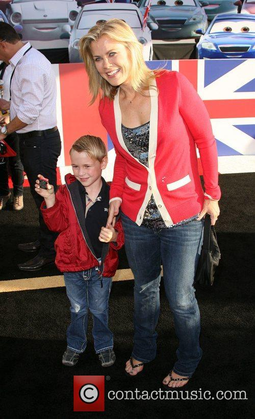 Alison Sweeney and son Benjamin Edward Sanov The...