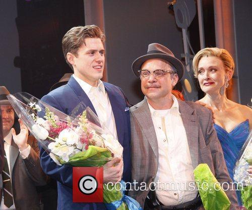 Aaron Tveit, Norbert Leo Butz and Rachel de...