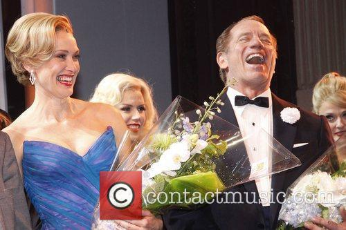 Rachel de Benedet and Tom Wopat Opening night...