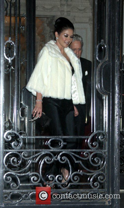 Catherine Zeta Jones and Michael Douglas 2
