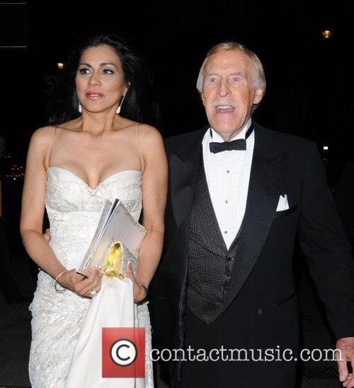 Bruce Forsyth and wife Wilnelia Merced  The...