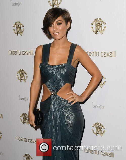 Frankie Sandford of The Saturdays London Fashion Week...