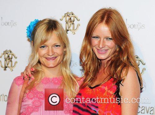 Lily Inge and Olivia Inge London Fashion Week...