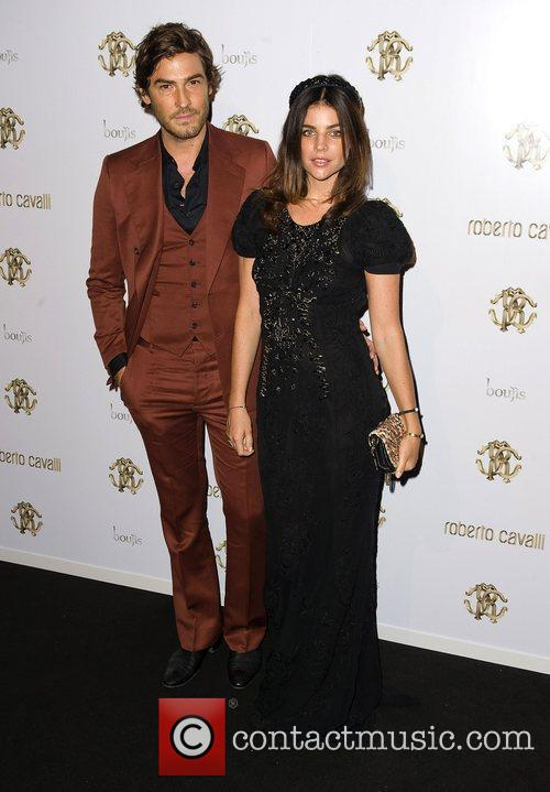 Robert Konjic And Julia Restoin and London Fashion Week 5