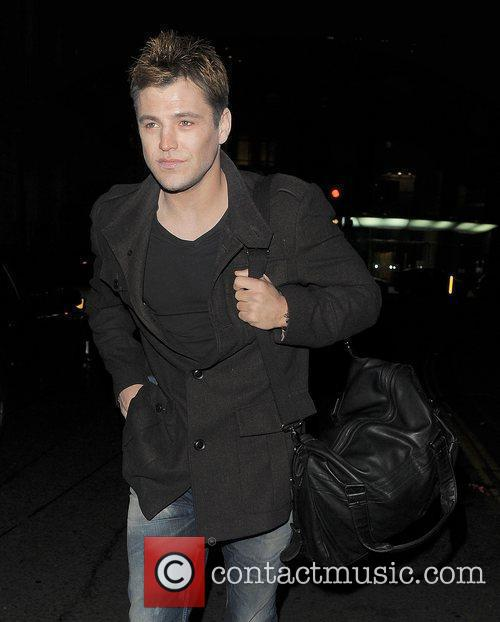 mark wright arrives at a halloween party 3584621