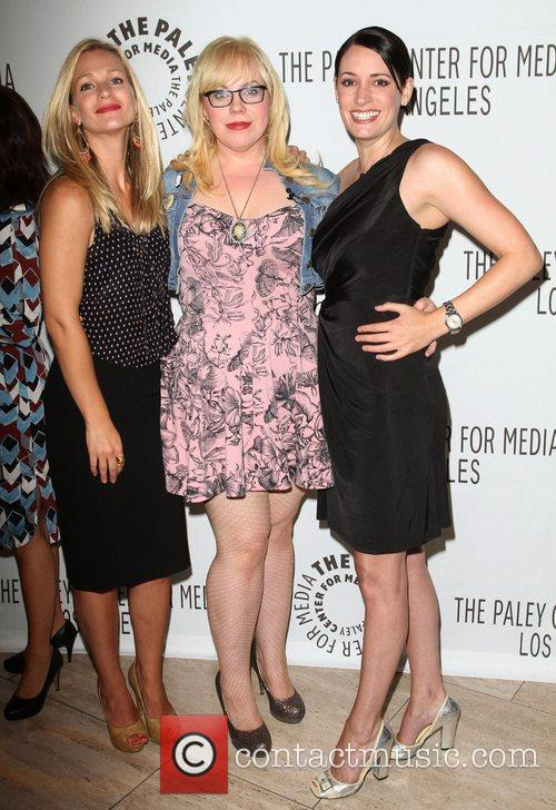 A.j. Cook, Kirsten Vangsness and Paget Brewster 4