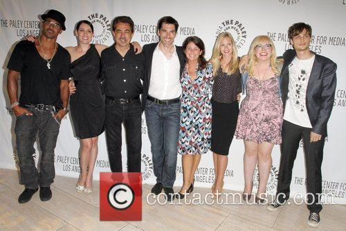 Shemar Moore, A.j. Cook, Joe Mantegna, Kirsten Vangsness, Matthew Gray Gubler, Paget Brewster and Thomas Gibson