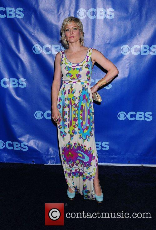 Amy Carlson 2011 CBS Upfront held at the...