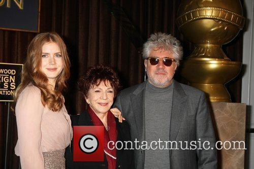 Amy Adams, Pedro Almodovar and Beverly Hilton Hotel 4