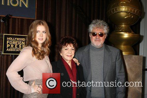 Amy Adams, Pedro Almodovar and Beverly Hilton Hotel 2