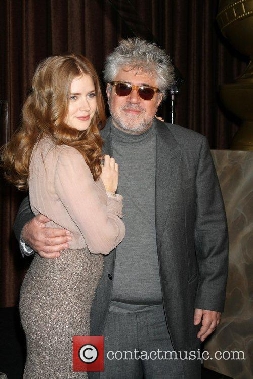Amy Adams, Pedro Almodovar and Beverly Hilton Hotel 3