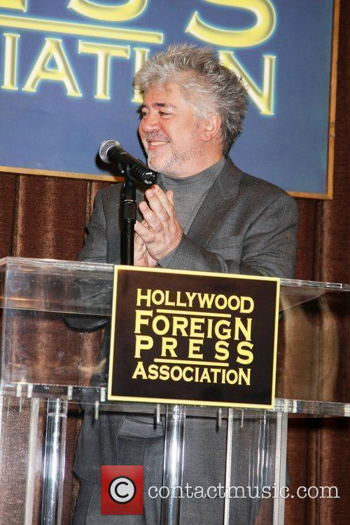 Pedro Almodovar and Beverly Hilton Hotel 2