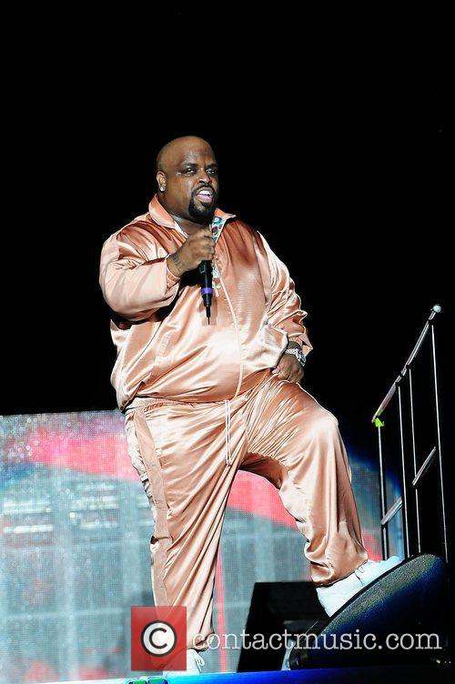 Cee Lo Green performing live at Sun Life...