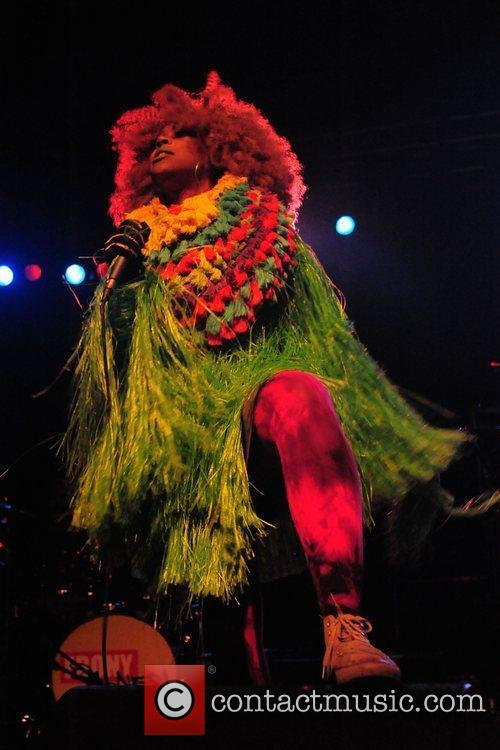 Ebony Bones. supporting Cee Lo Green playing at...