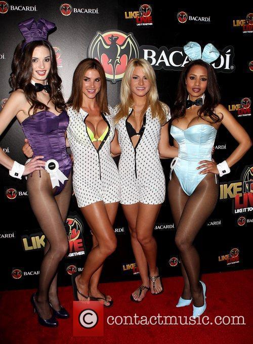 Models Bacardi 'Like It Live It Together' event...