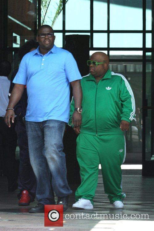 Cee Lo Green leaving a medical centre in...