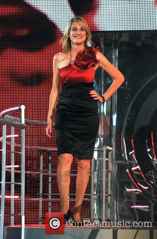 Celebrity Big Brother live eviction held at Elstree...