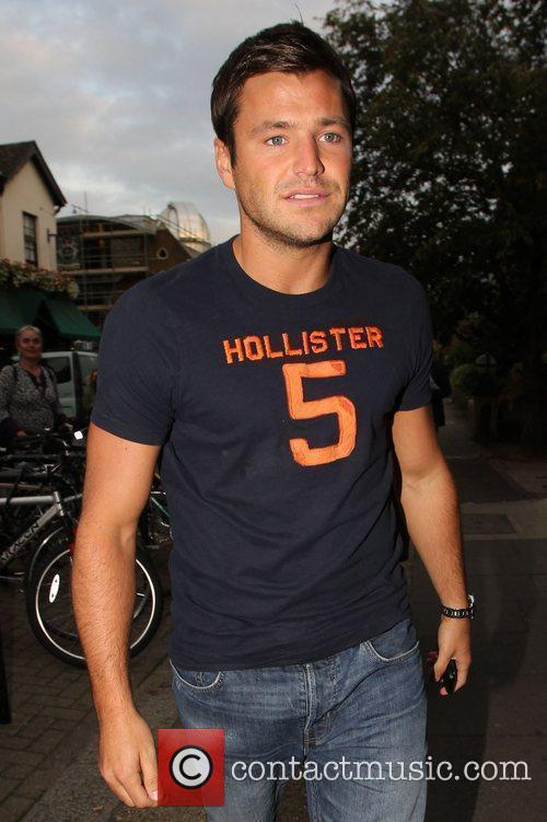Mark Wright Celebrities arrive for the filming of...