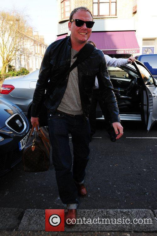Antony Cotton arrives for the filming of the...