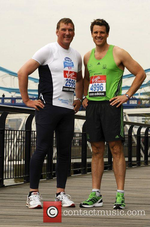 Mathew Pinsent & James Cracknell Celebrity runners for...