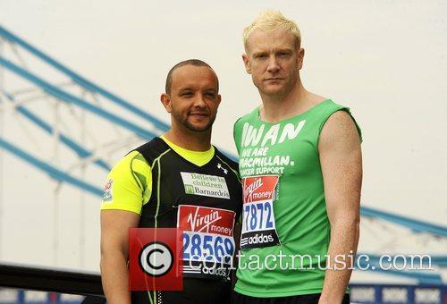Jamie Baulch & Iwan Thomas Celebrity runners for...