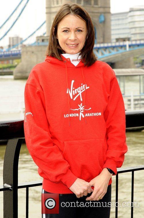 Jo Pavey Celebrity runners attend the 'British Elite...