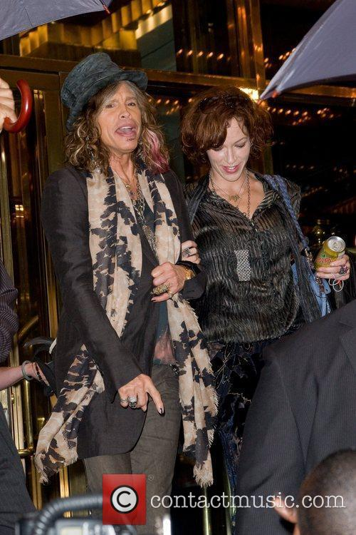 Steven Tyler, Erin Brady and Manhattan Hotel
