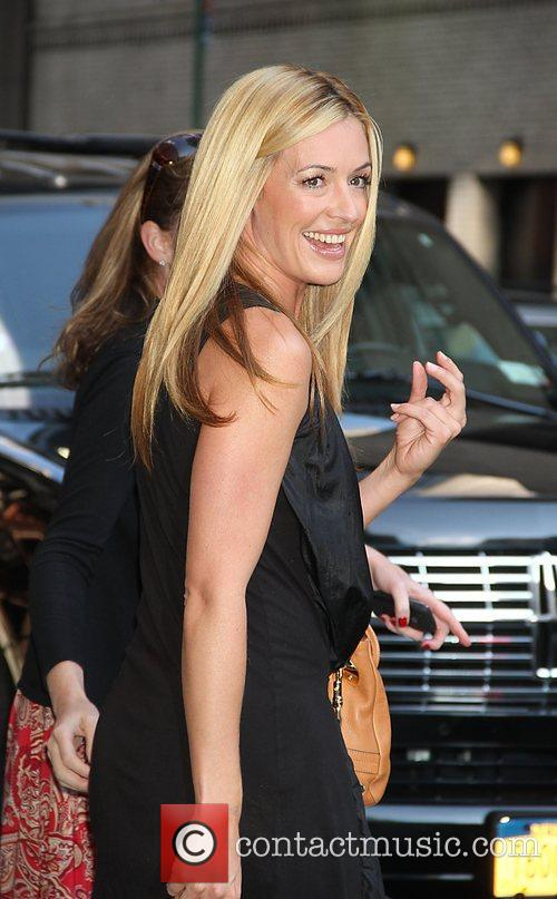 Cat Deeley At the 'Late Show With David...