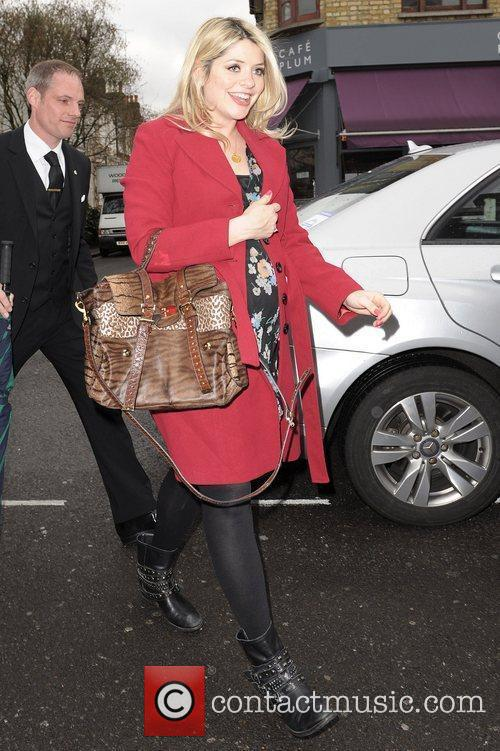 Celebrities arriving at the studio to film the...