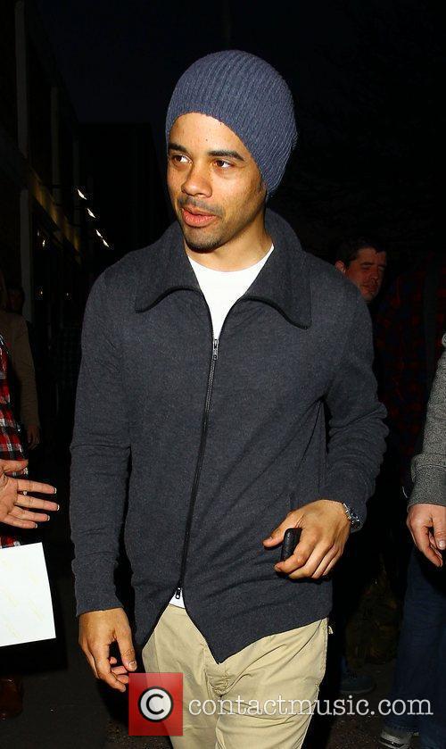 Kimberley Walsh's boyfriend Justin Scott Celebrities arriving at...
