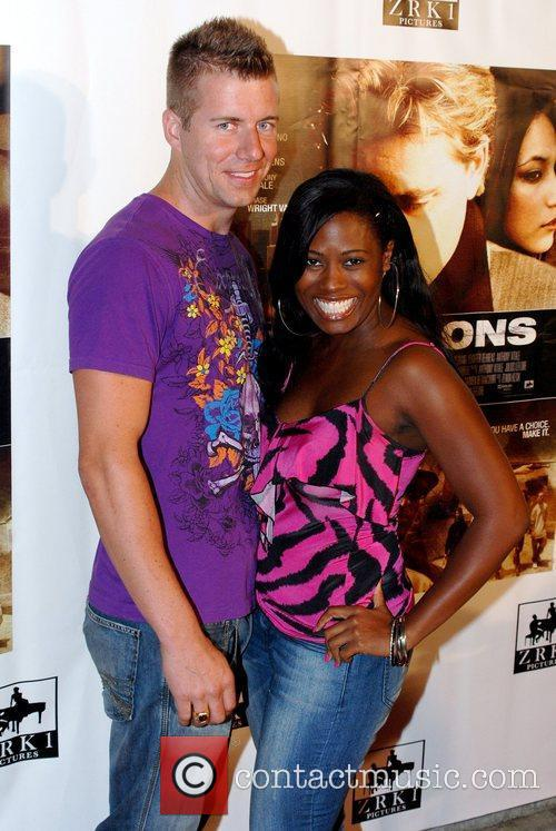 Spencer Moon and Tennille Williams Celebrity karaoke party...