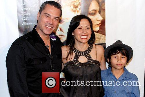 Yeniffer Behrens and family Celebrity karaoke party hosted...