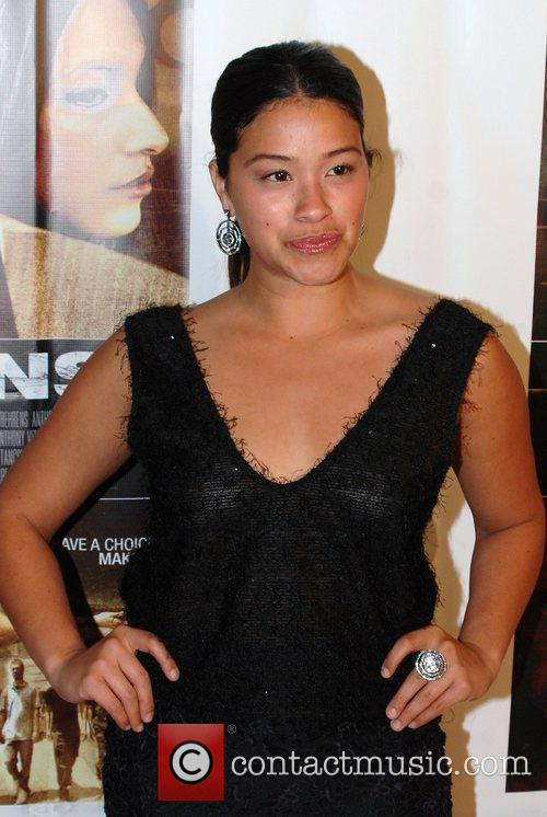 Gina Rodriguez Celebrity karaoke party hosted by Lorenzo...