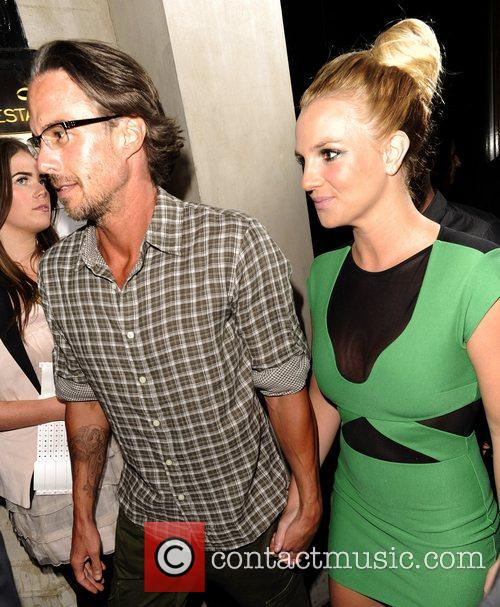 Britney Spears and Jason Trawick 9