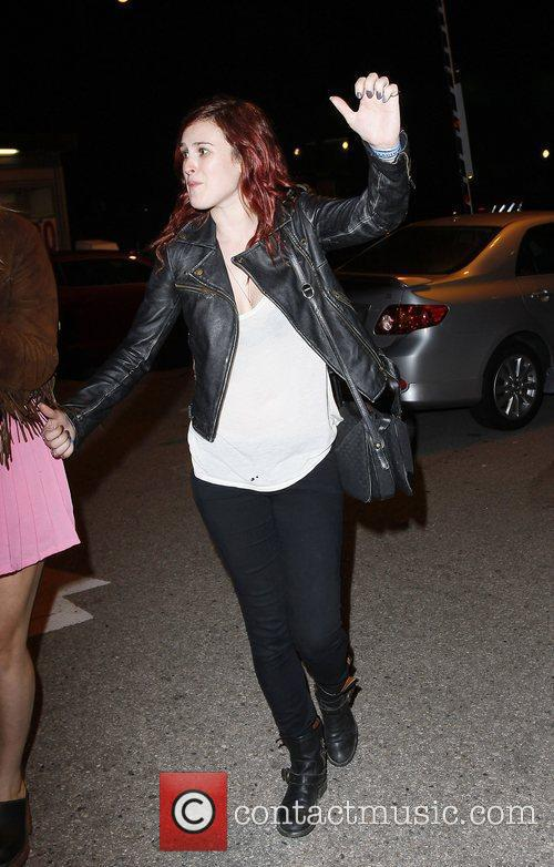 Rumor Willis Leaving the Hollywood Paladium after watching...
