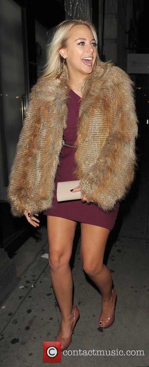 sacha parkinson macmillan centenary gala afterparty held 3631673