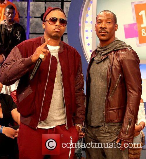 Nas and Eddie Murphy 7