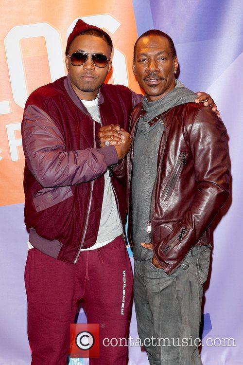 Nas and Eddie Murphy 6