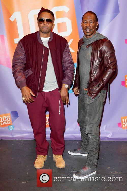 Nas and Eddie Murphy 12