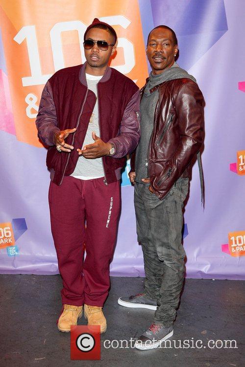 Nas and Eddie Murphy 11