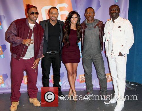 Nas, Akon and Eddie Murphy
