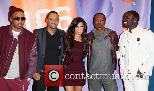 Nas, Akon and Eddie Murphy 2