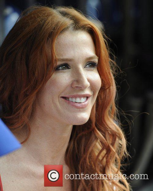 Poppy Montgomery 'Without a Trace' stars at Citi.